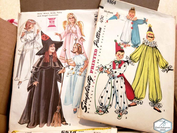 Vintage Patterns Costume