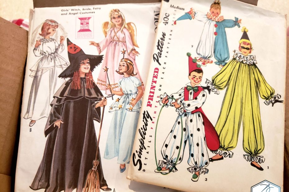 Vintage Patterns Costume