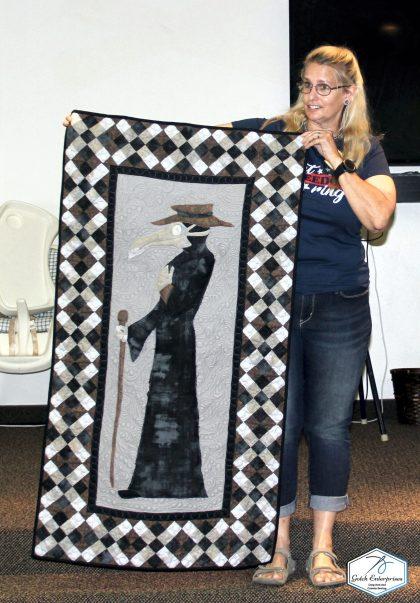 Dr. Corona Banner Quilt
