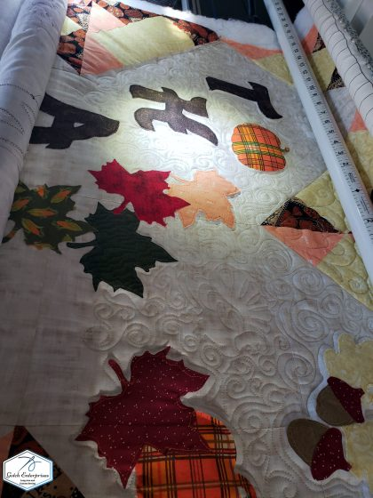 Thankful Quilting