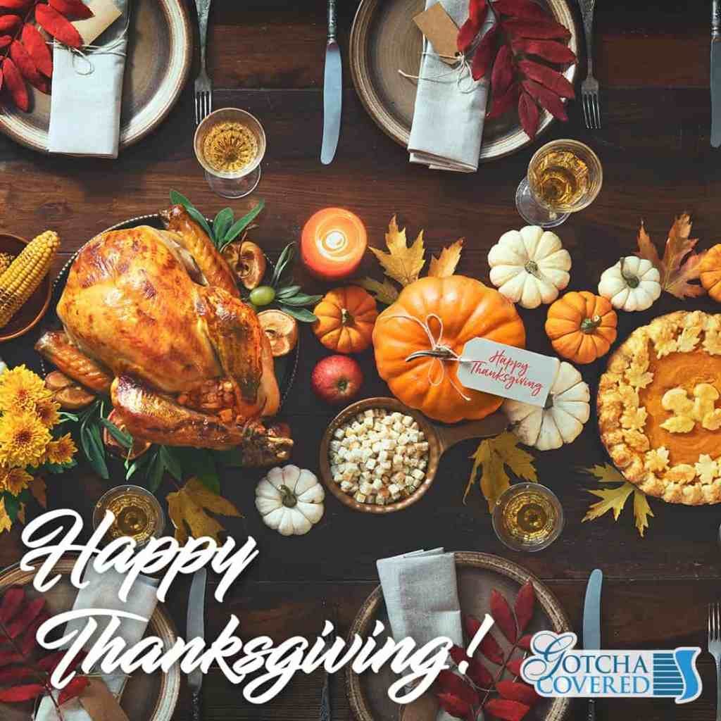 To all our friends and family in the US, Happy Thanksgiving!