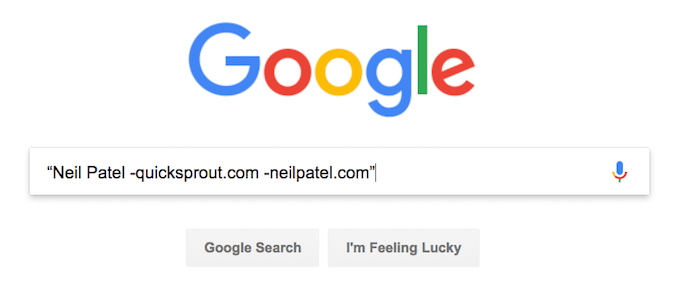 Reductive Search Query
