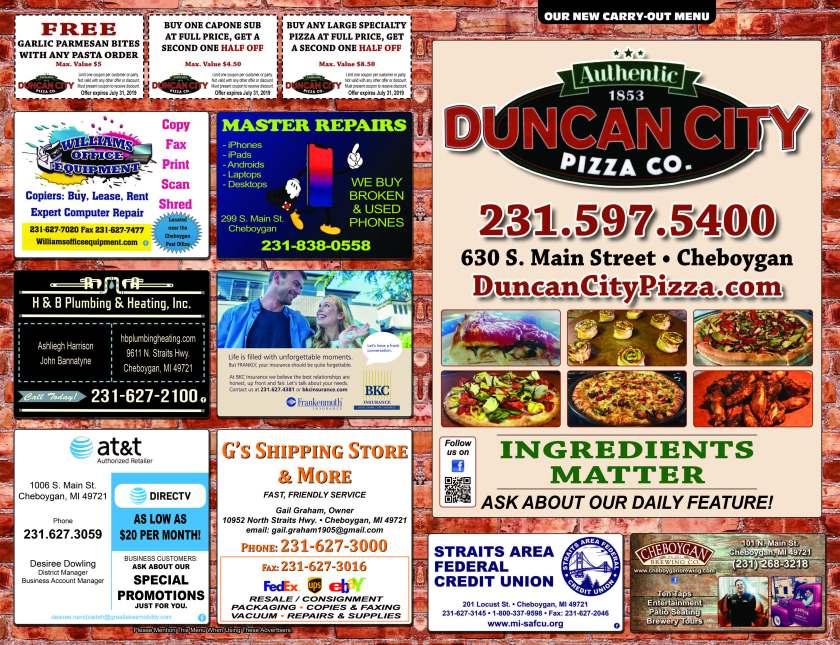 Duncan City Pizza