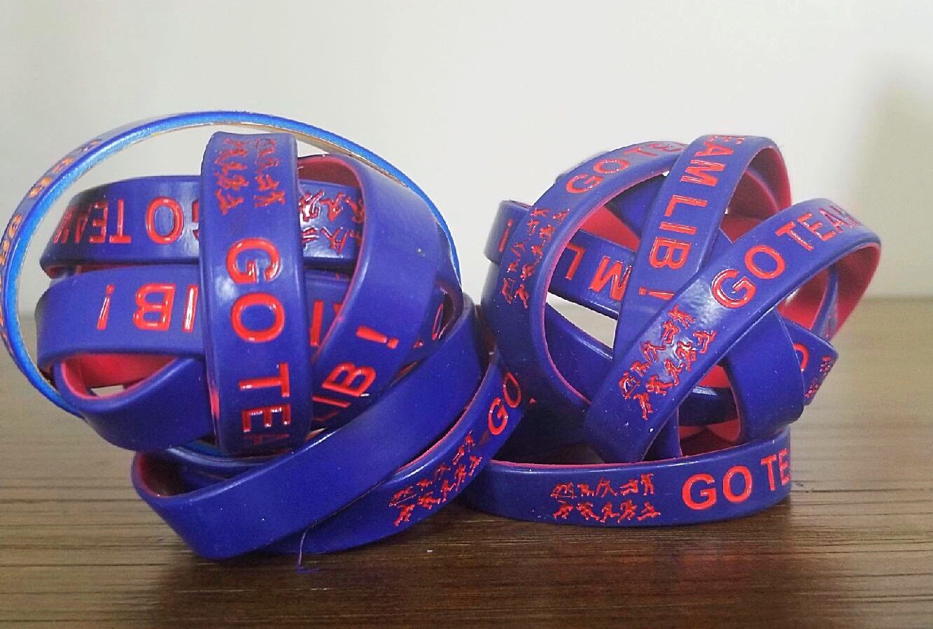 Go Team LIB Track wristbands (2)