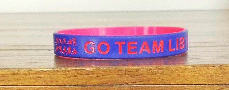 Go Team LIB Track wristbands
