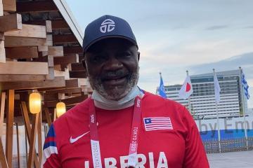 Q&A With Team Liberia Tokyo 2020 Chef de Mission
