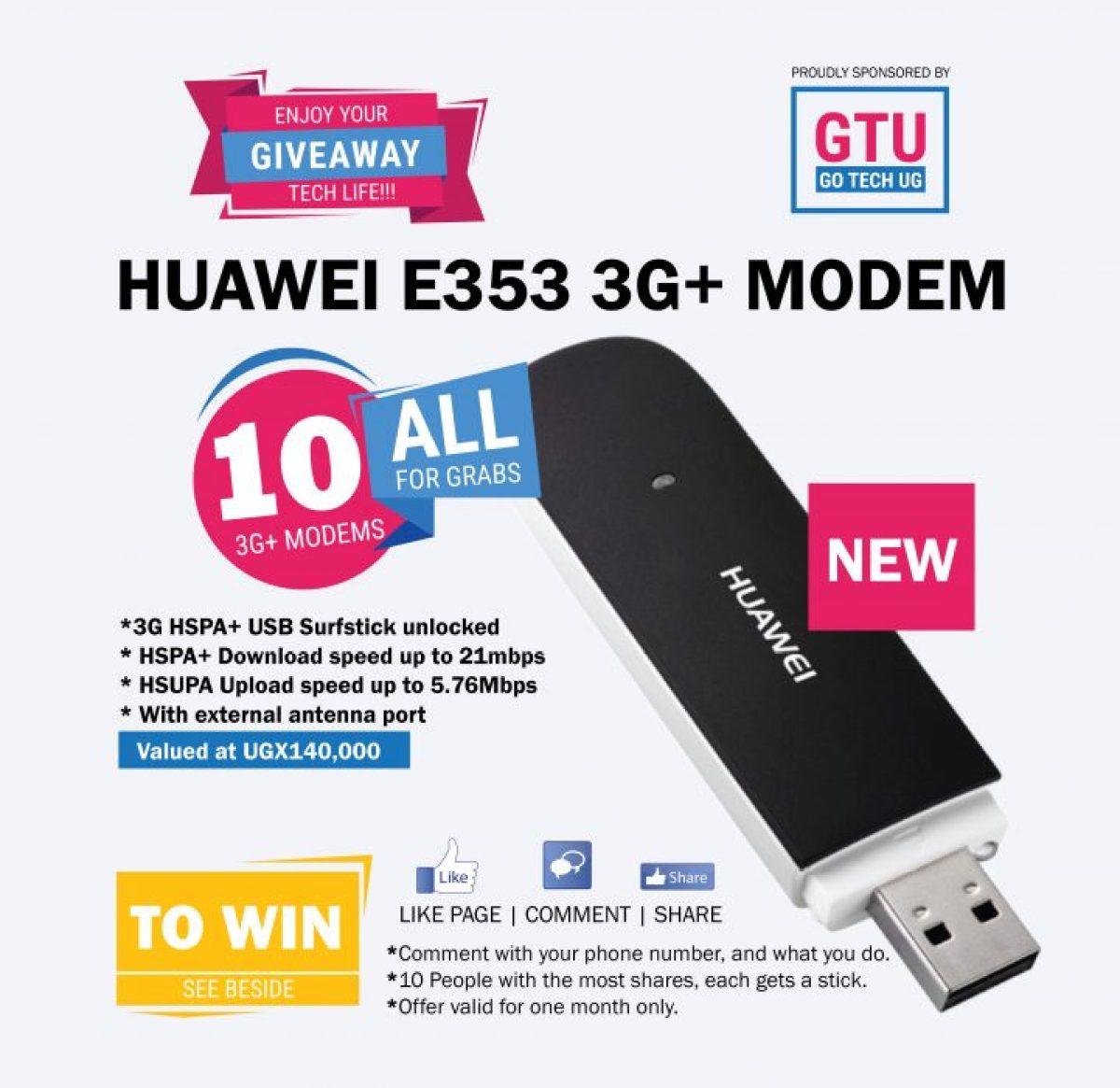 Huawei E353 3G+ MODEM