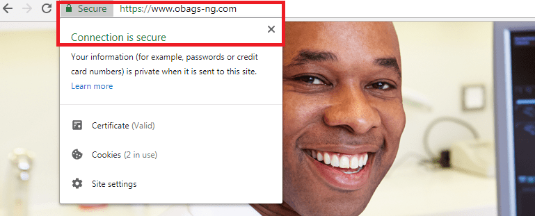 site now secure and https working fine