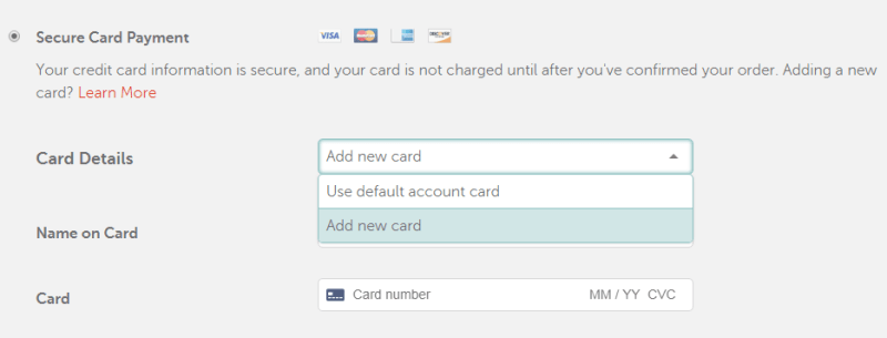 adding momocard to online store