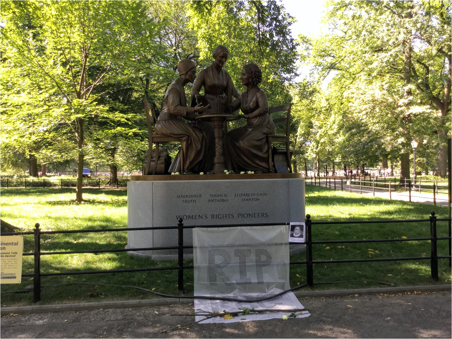 Women's Rights Activists statue
