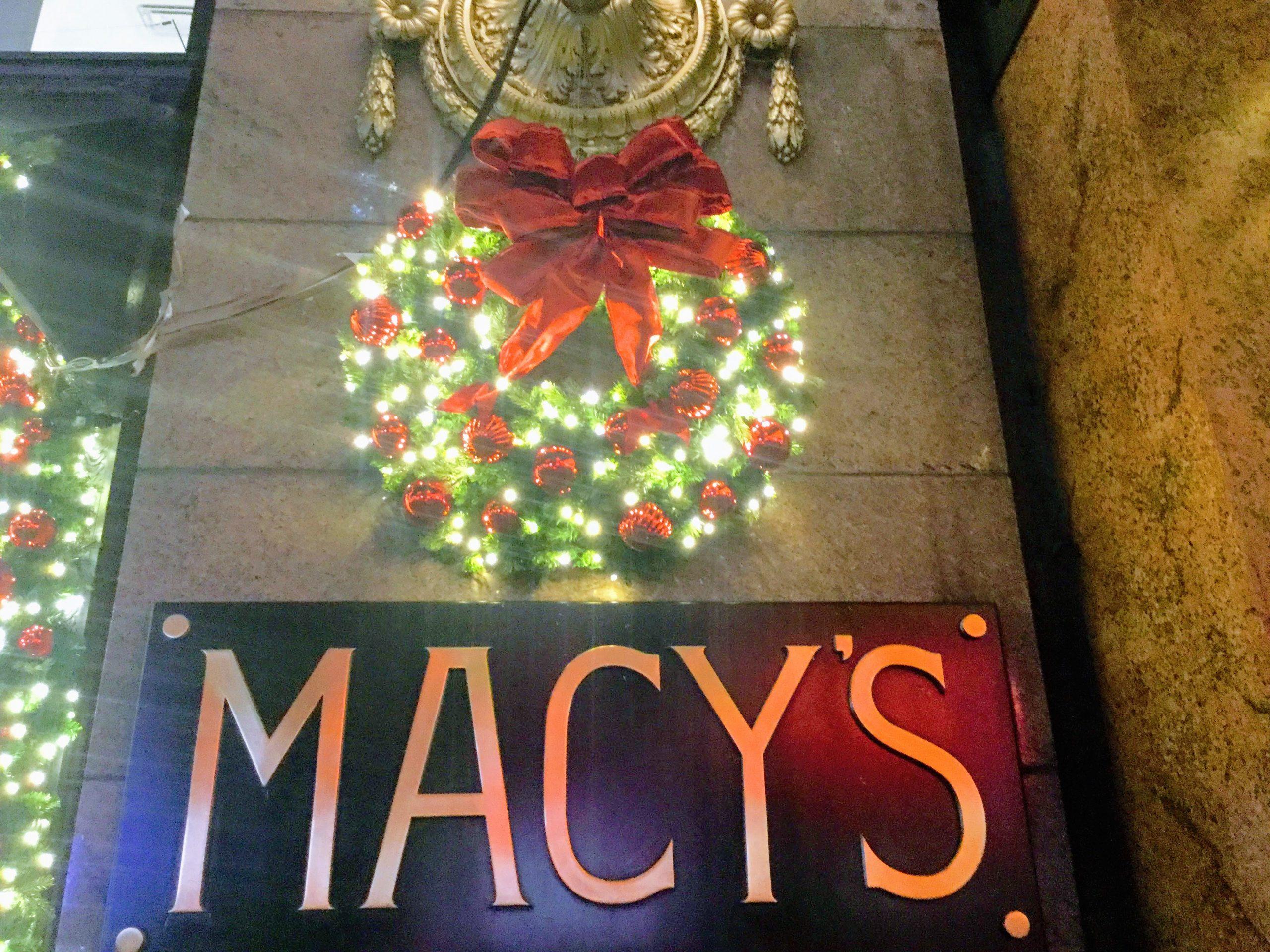 Macy's Holiday Windows