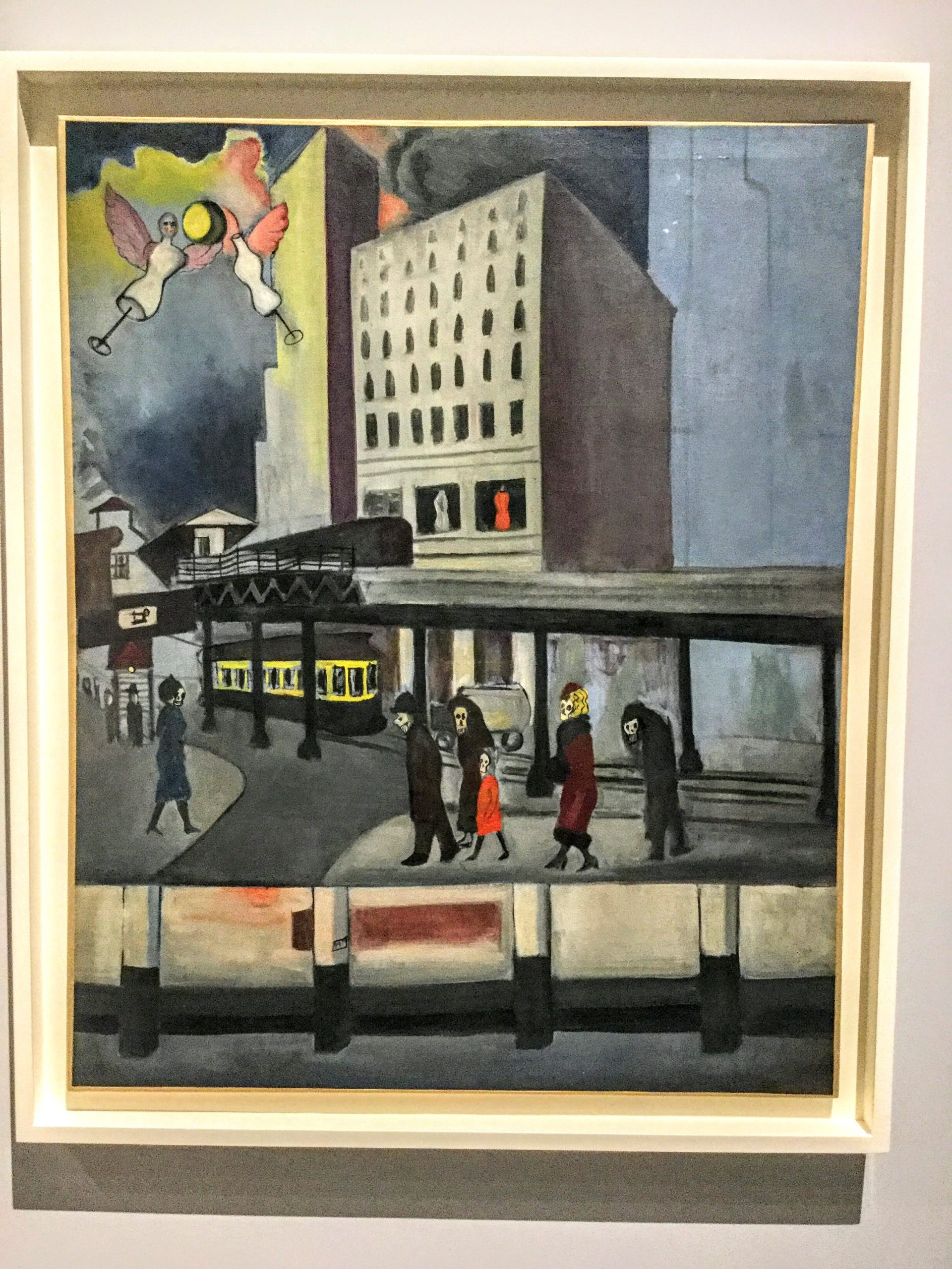 Synthesis of New York - The Great Depression by Alice Neel