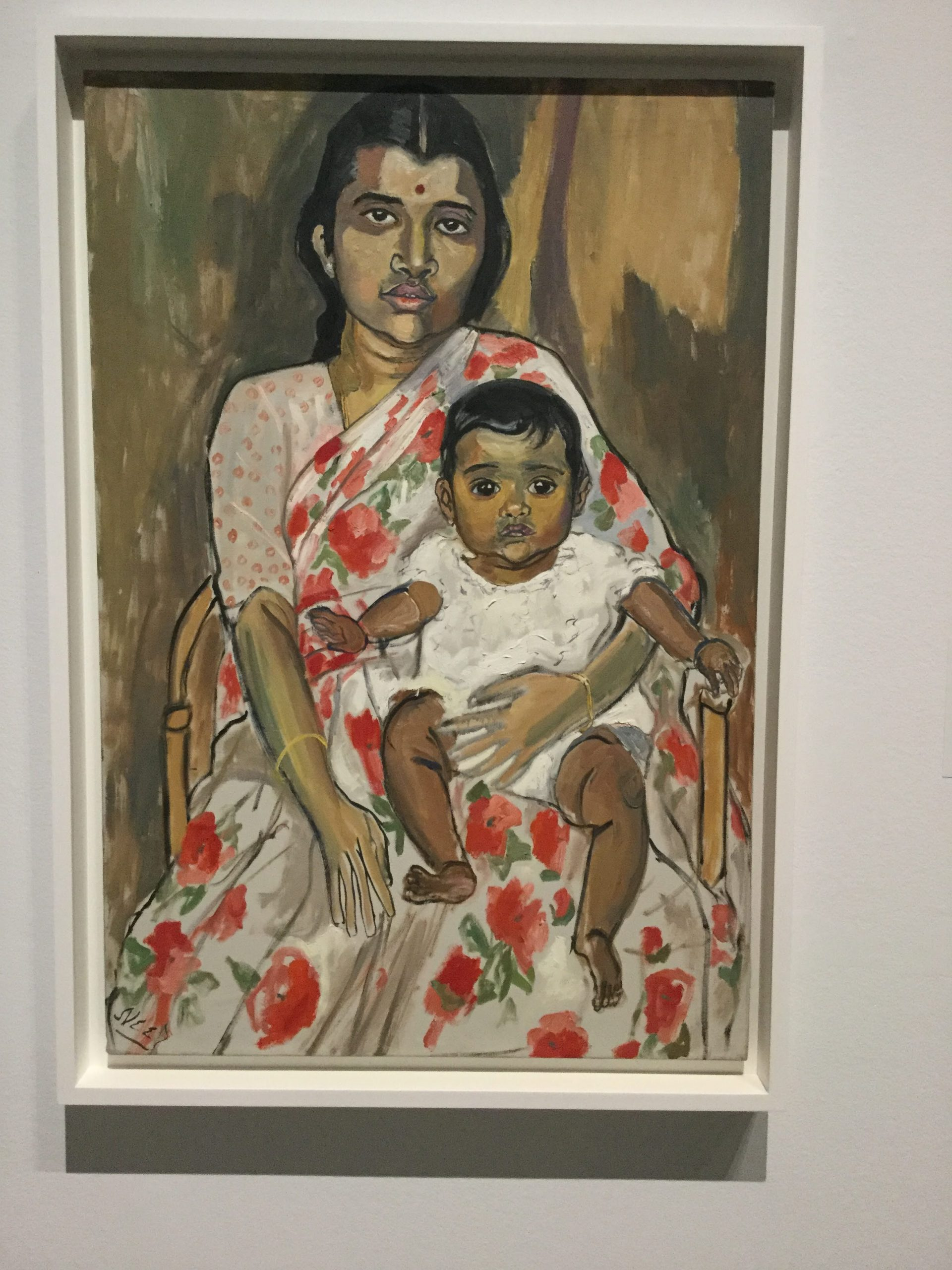 """""""Mother and Child"""" by Alice Neel"""