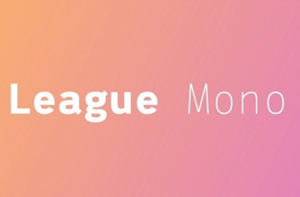 League Mono Font