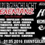 11. Hexentanz-Festival mit Eisbrecher, Gothminister und Letzte Instanz