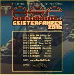 ASP – Geisterfahrer-Tournee 2016
