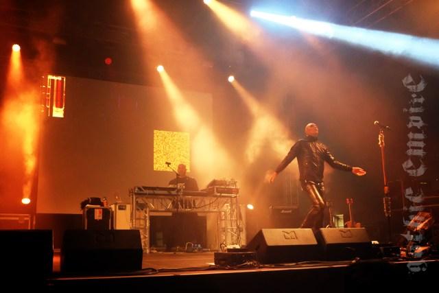 Auftritt von Rotersand auf den Wave-Gotik-Treffen 2017