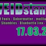 Veidstanz Festival 2018 – Berlin, Pfefferberg Haus 13 am 17.03.2018