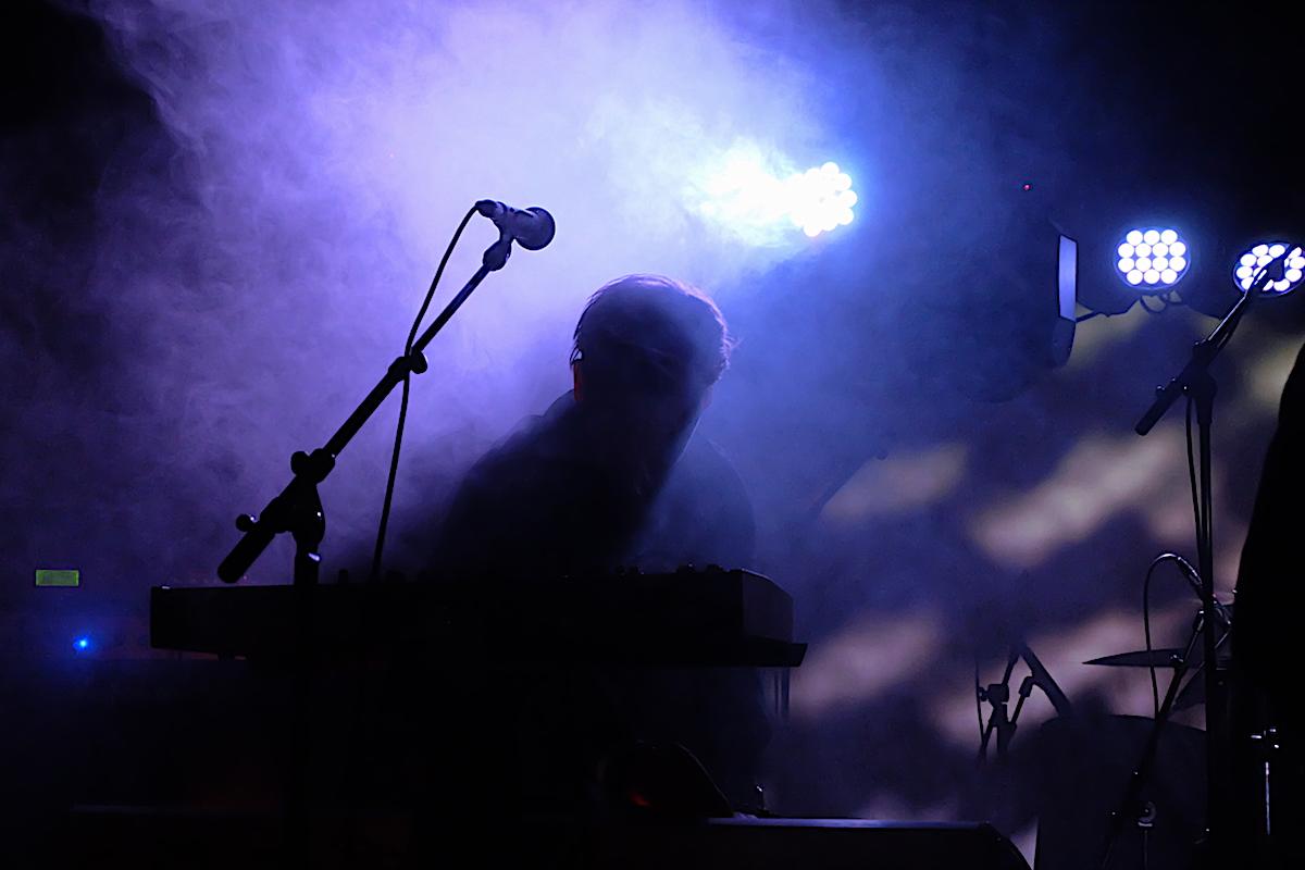 A Projection beim 9. Dark Spring Festival (c) 2018 Michael Budde