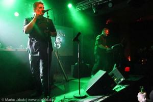 Scheuber live in Concert with Faderhead Berlin 2.3.2018 (c) Marko Jakob