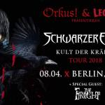 Konzert: Schwarzer Engel & The Fright Berlin, Maze 08.04.2018