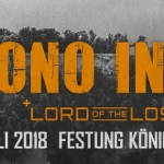 Konzertankündigung: Festung Königstein Open Air 2018 mit Lord Of The Lost & Mono Inc.