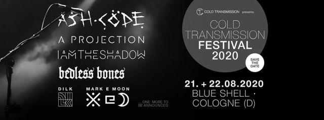 Cold Transmission on tour: Tourdaten 2020