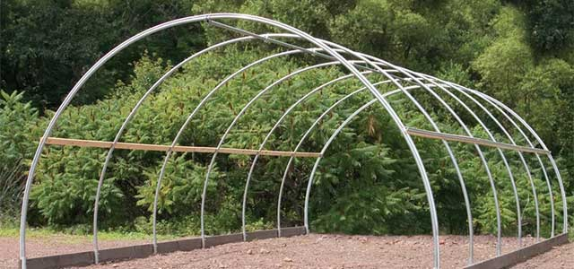 Round Cold Frame Gothic Arch Greenhouses