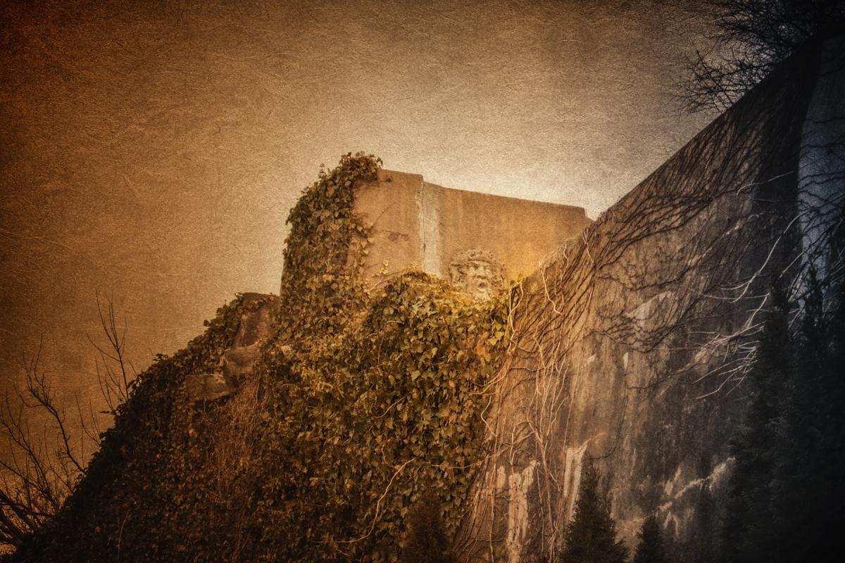 Walls of Ferguson's Castle
