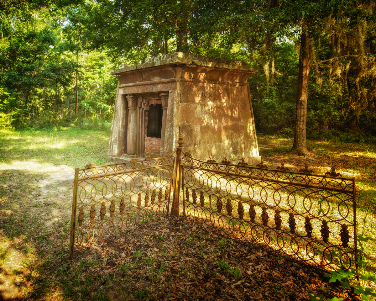 Crypt, Chapel of Ease, St. Helena Island, Beaufort County, South Carolina