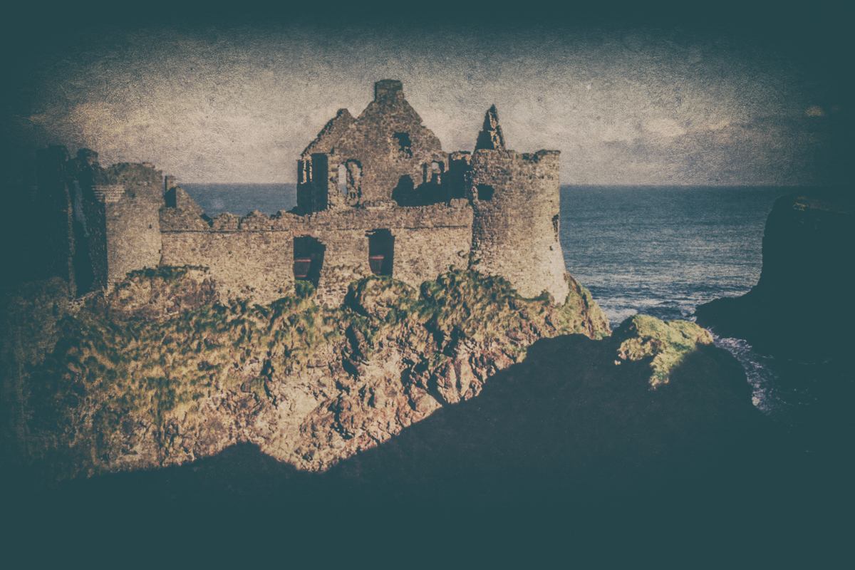 Dunluce Castle, Country Antrim, Northern Ireland