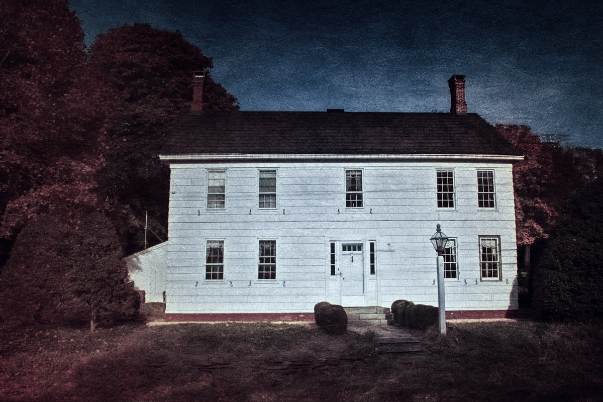 The Joseph Smith Hawkins house in Stony Brook was built by a close relative of Jonas Hawkins, and reportedly has its own ghost as well