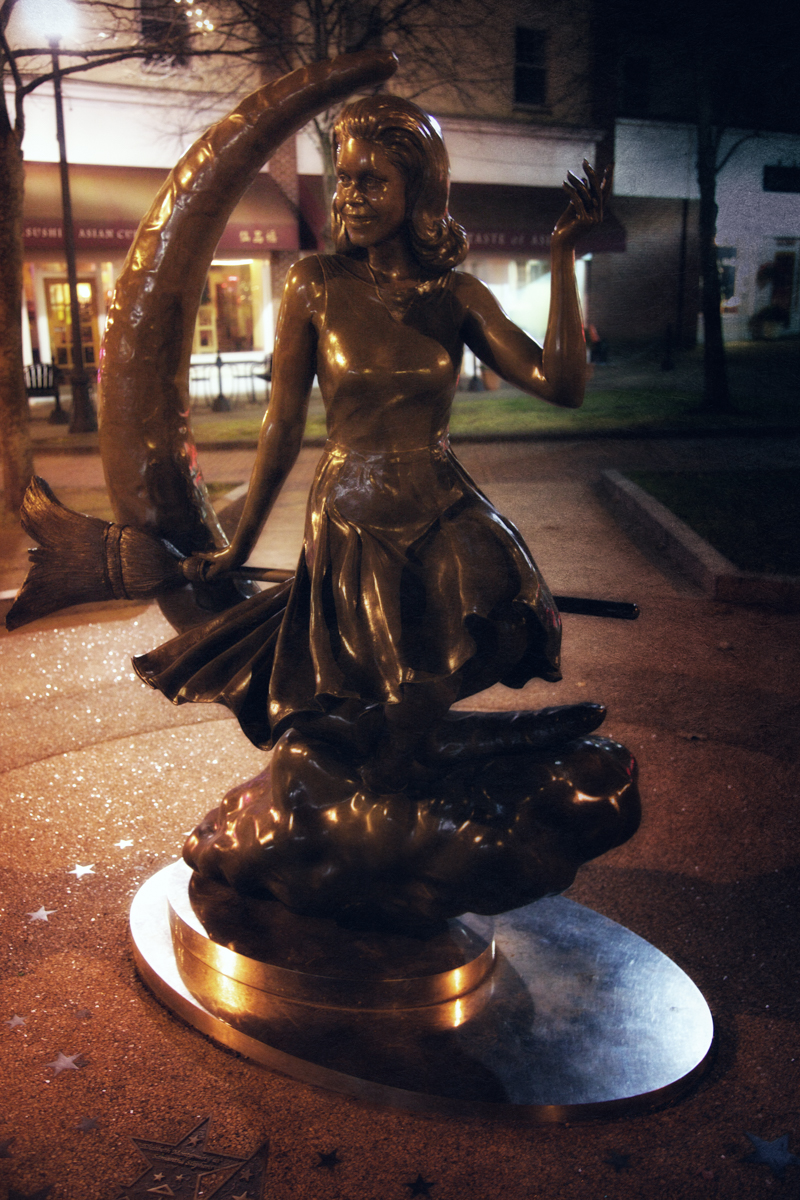 The Bewitched Statue, Salem, Massachusetts.