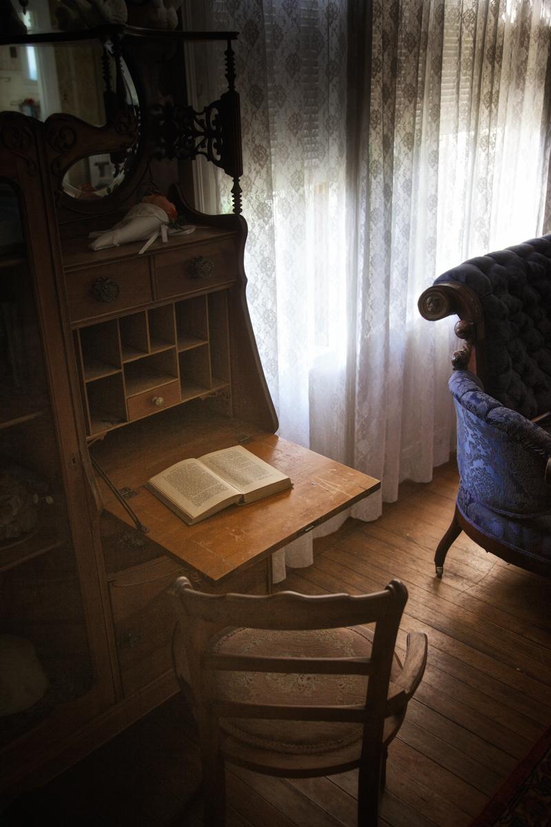 Mrs. Cruikshank's Drop Front Writing Desk, Rockcliffe Mansion
