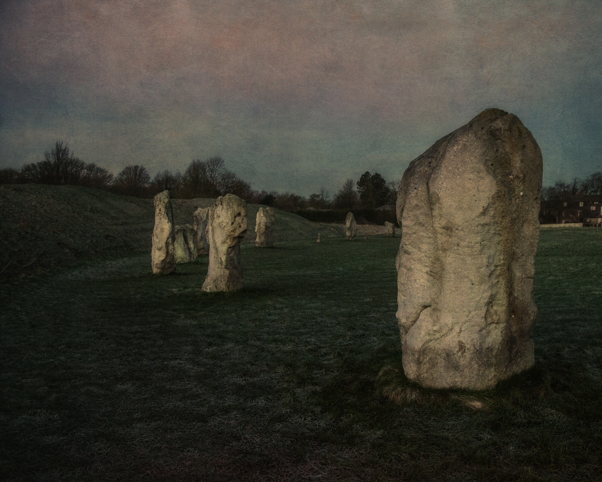 Standing Stones of the Great Circle, Southern Arc at Sunrise