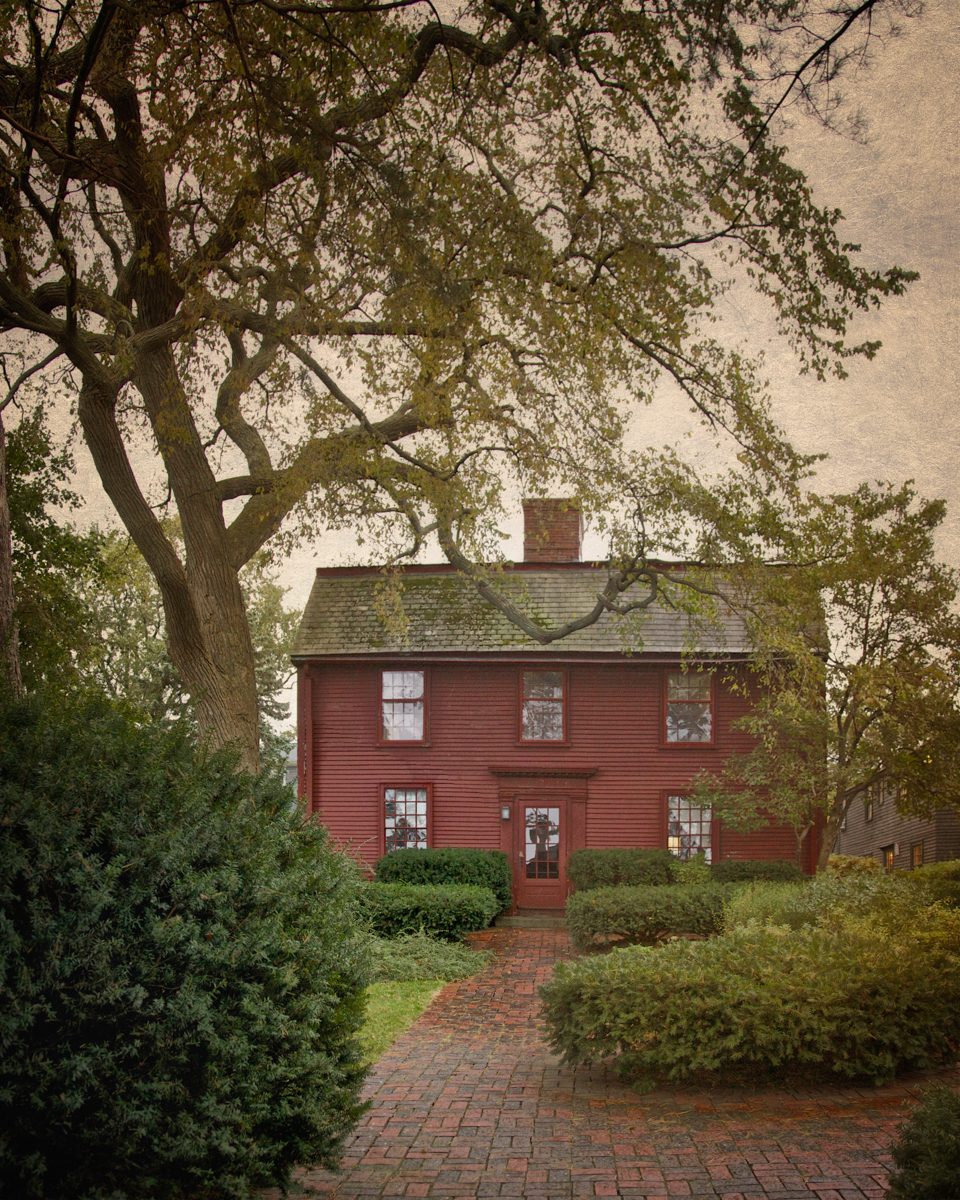The Nathaniel Hawthorne House, Nathaniel Hawthorne's Birthplace, c. 1750.