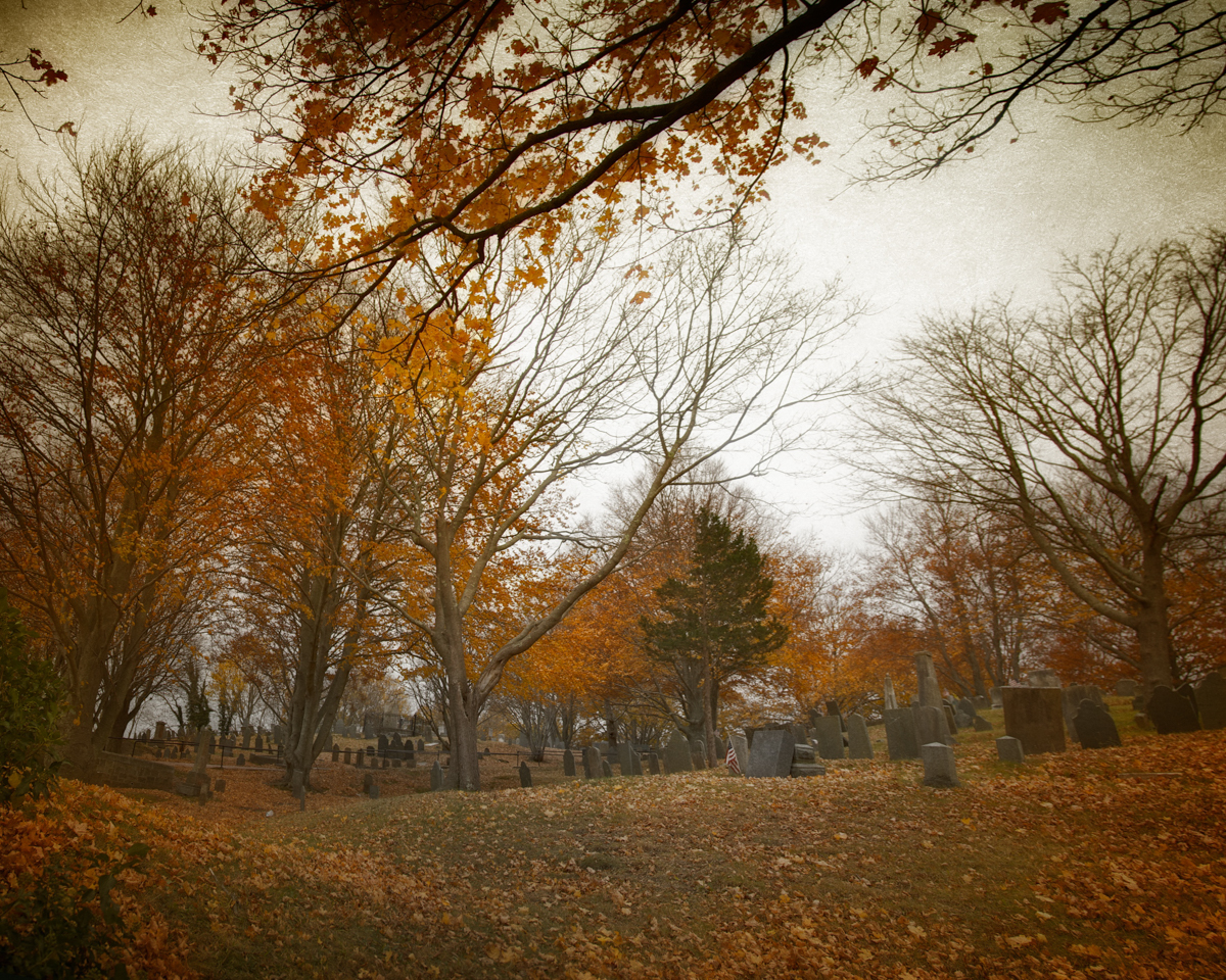 Burial Hill in haunted Plymouth is known for the ghost of the captain of the General Arnold who still watches over his lost men, a Victorian couple mourning their lost daughter, native American spirits and others.