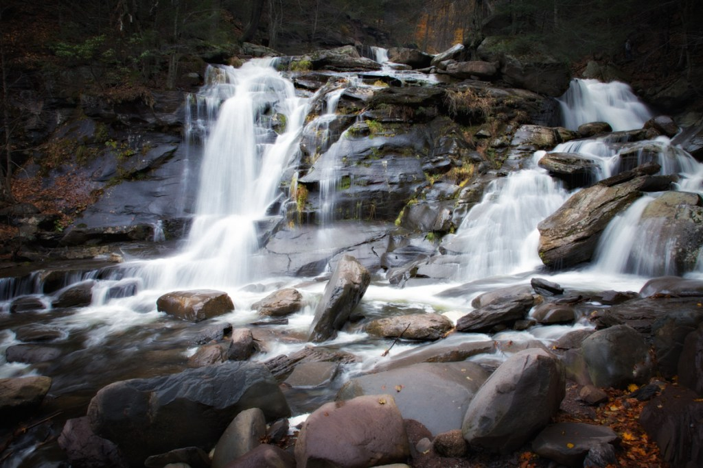 Bastion Falls from Haunted Travels in the Hudson River Valley of Washington Irving