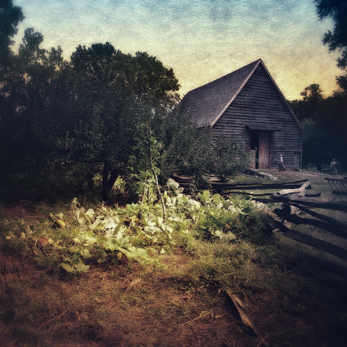 Barn at Philipsburg Manor in Sleepy Hollow, a perfect setting for American folk horror.