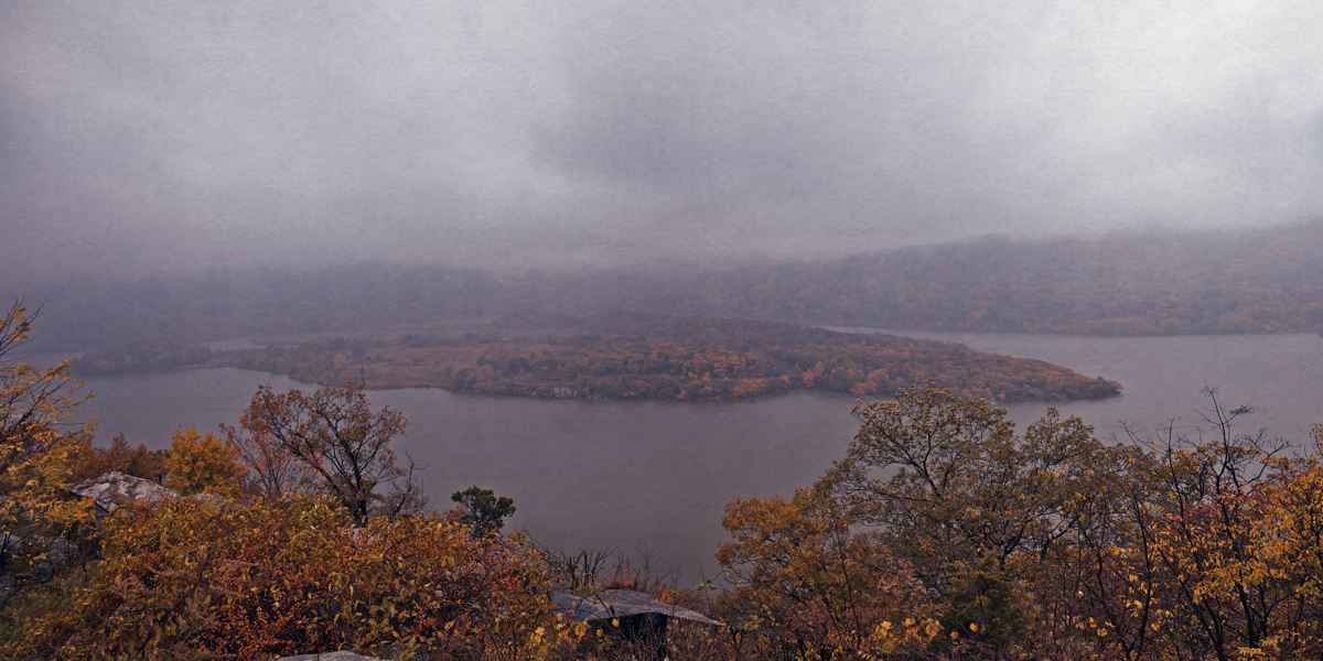 View of Iona Island from Haunted Travels in the Hudson River Valley of Washington Irving