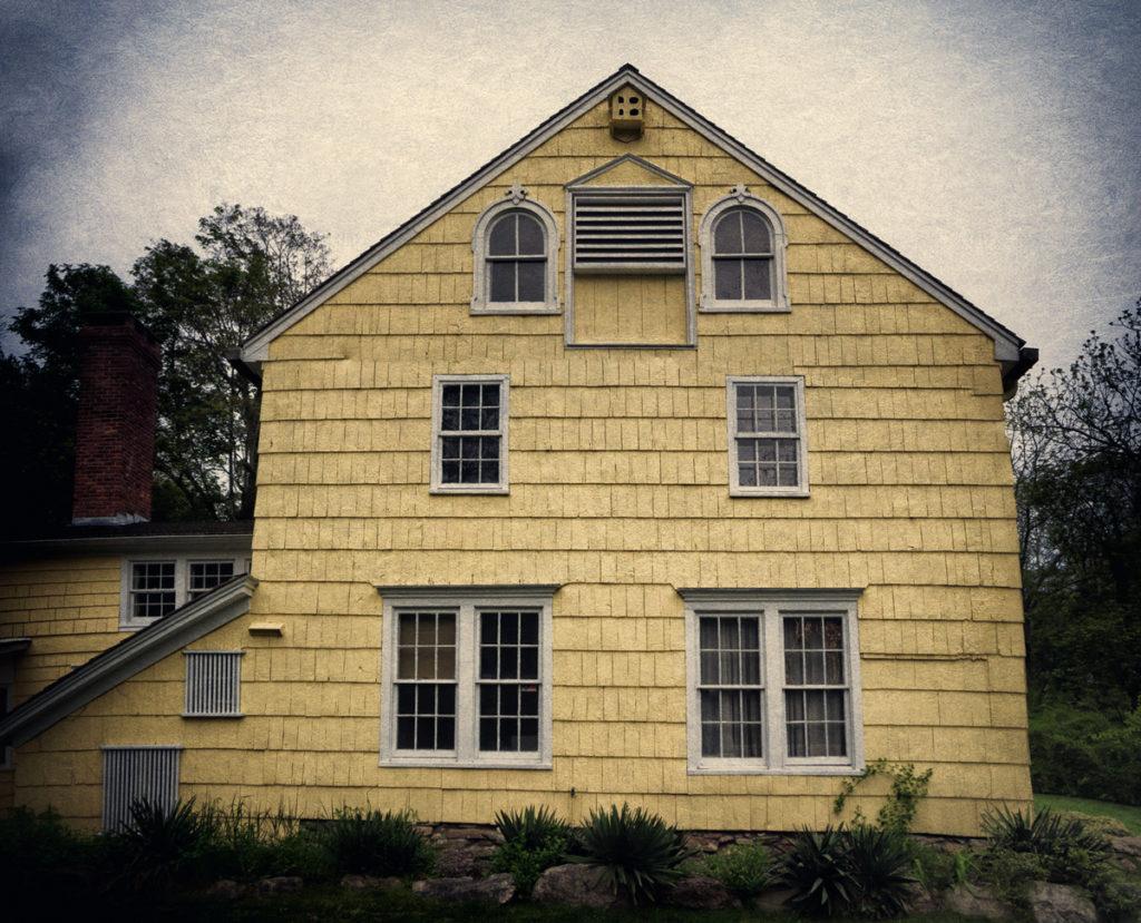 The haunted Hawkins-Mount Homestead in Stony Brook
