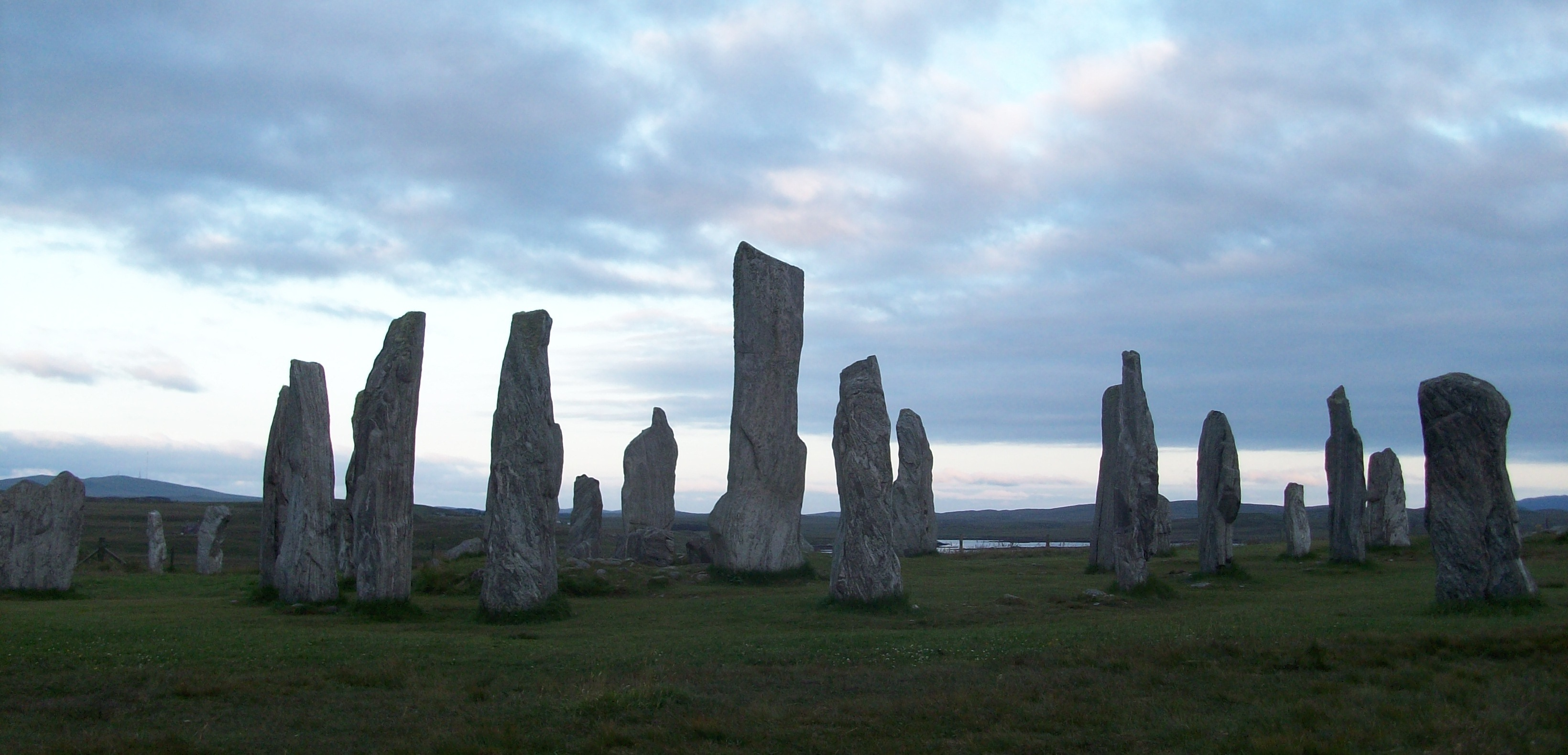 Callanish Stones on the Isle of Lewis.