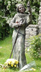 You visit St Brigid's Well on our tour of sacred sites in Ireland
