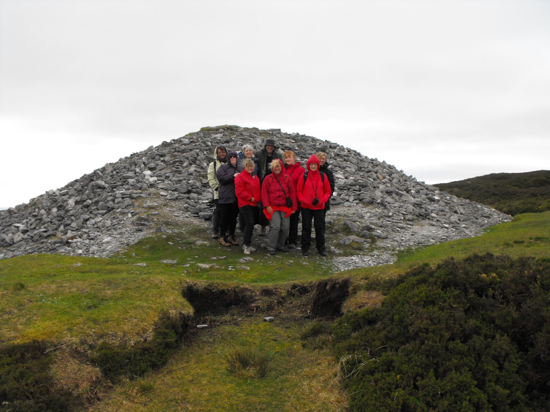 A windy day at Carrowkeel