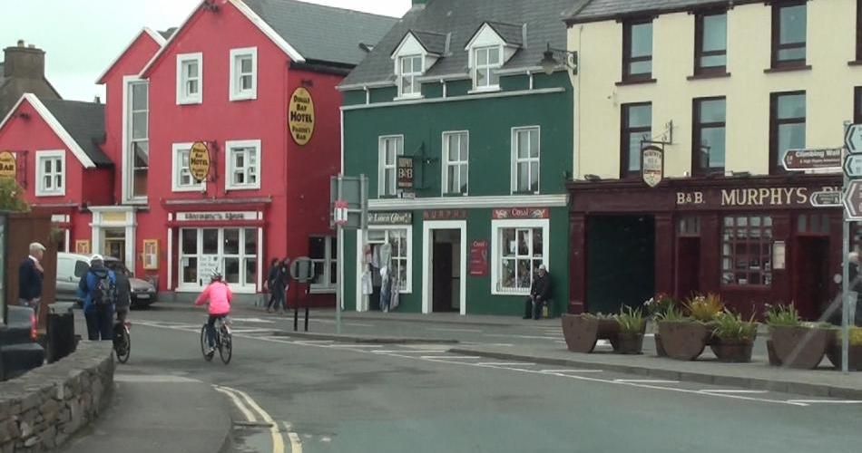 Arriving in DIngle on a spiritual tour of Ireland