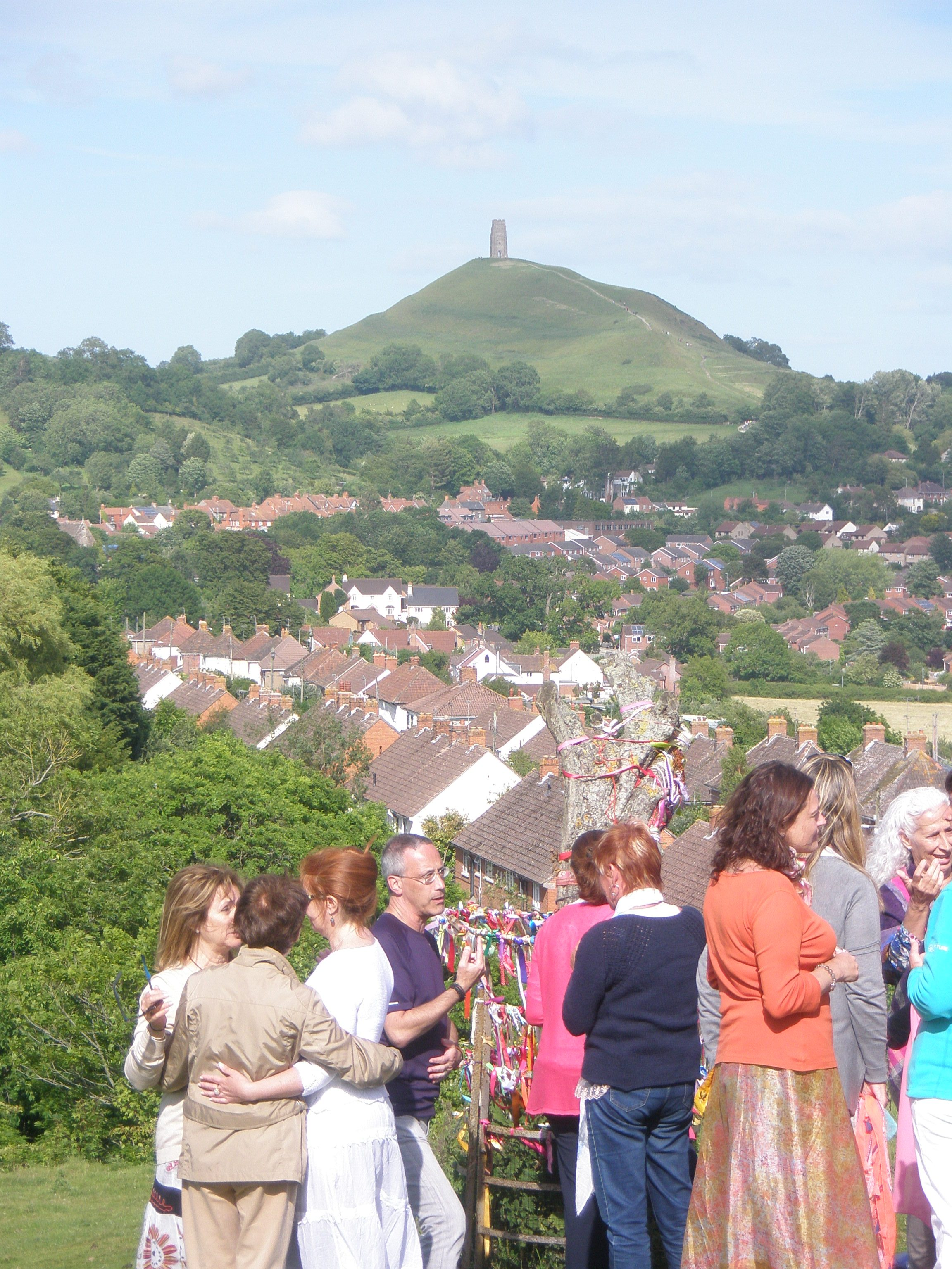 The Tor viewed from Wearyall Hill in Glastonbury
