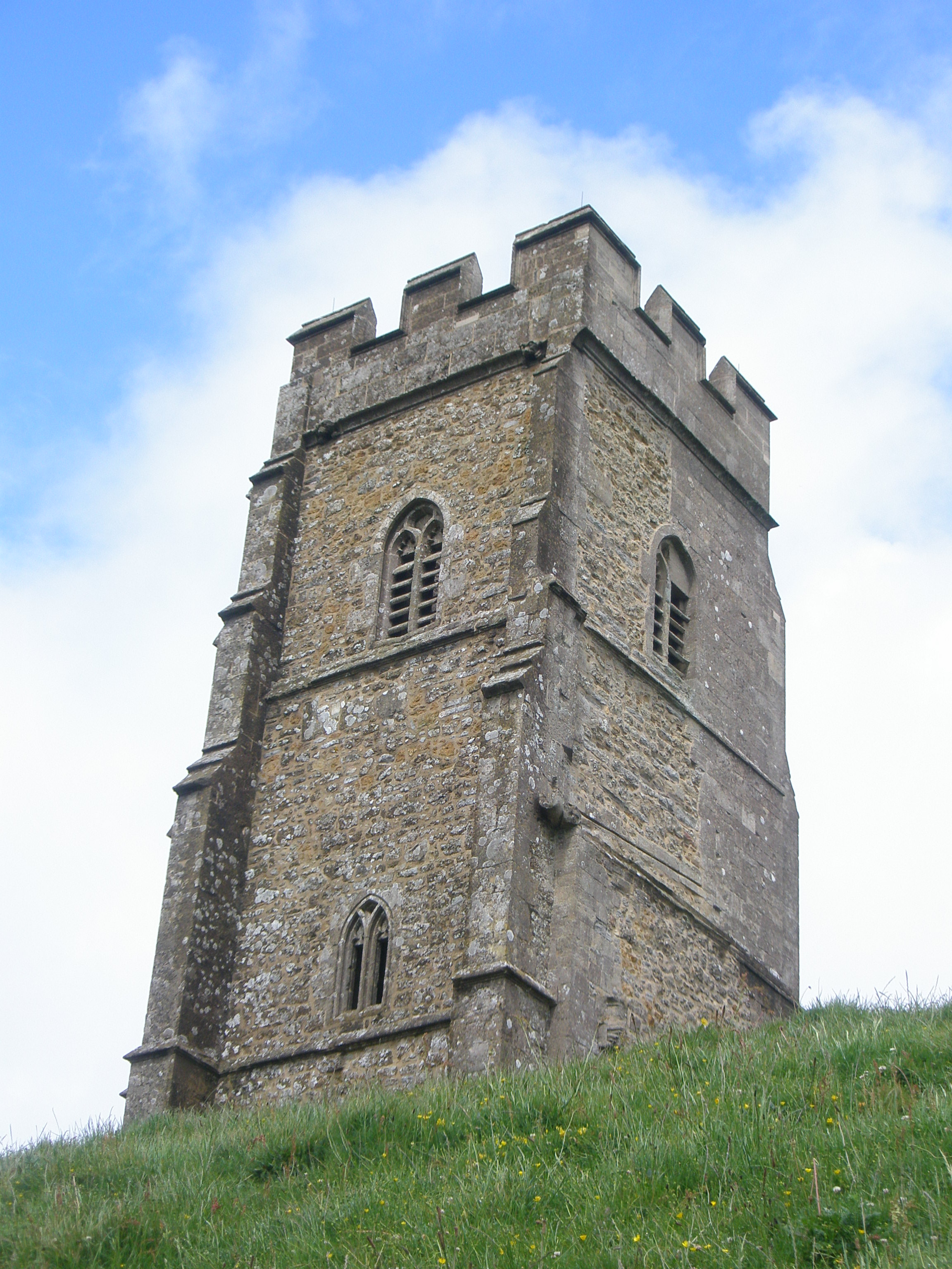 St Michael's Tower,  The Tor Glastonbury