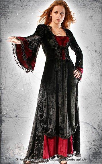 Cathedral Queen GothicKleid Samt  Gothickleidungde  Kleider