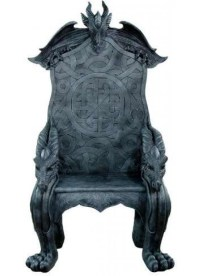 Celtic Dragon Throne Medieval Chair Gothic Home Decor ...