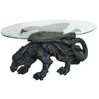 Dragon Winged Coffee Table by Monte Moore - 33 Inches Long ...